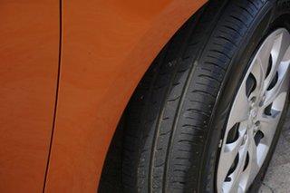 2015 Hyundai Accent RB2 MY15 Active Orange 4 Speed Sports Automatic Hatchback
