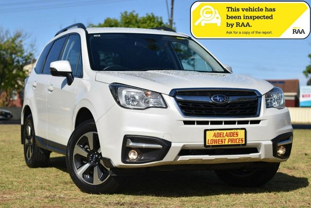 Used Subaru Forester S4 MY18 2.0D-L CVT AWD Cheltenham, 2018 Subaru Forester S4 MY18 2.0D-L CVT AWD White 7 Speed Constant Variable Wagon