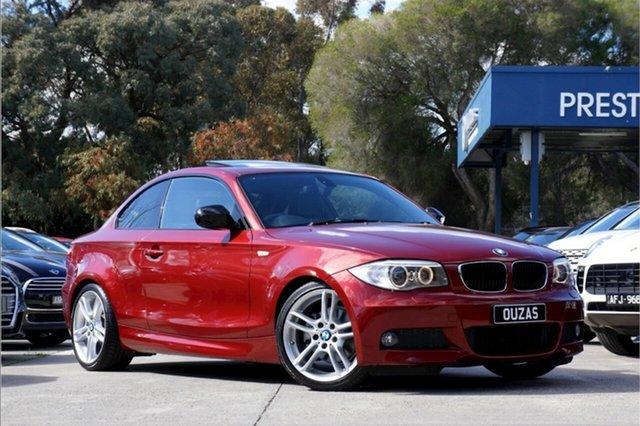 Used BMW 1 Series E82 LCI MY1112 120i Steptronic Balwyn, 2013 BMW 1 Series E82 LCI MY1112 120i Steptronic Red 6 Speed Sports Automatic Coupe