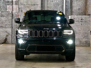 2016 Jeep Grand Cherokee WK MY16 75th Anniversary Black/Grey 8 Speed Sports Automatic Wagon.