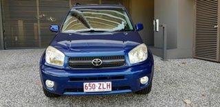 2004 Toyota RAV4 ACA22R Cruiser (4x4) Blue 4 Speed Automatic Wagon.