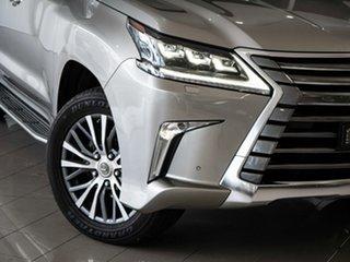 2017 Lexus LX URJ201R LX570 Silver, Chrome 8 Speed Sports Automatic Wagon.