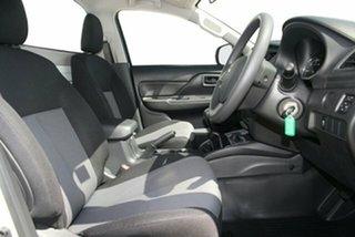 2021 Mitsubishi Triton MR MY21 GLX 4x2 White 5 Speed Manual Cab Chassis.