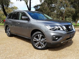 2017 Nissan Pathfinder R52 Series II MY17 Ti X-tronic 4WD Grey 1 Speed Constant Variable Wagon.