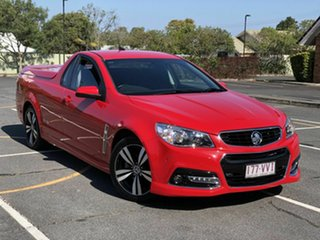 2015 Holden Ute VF MY15 SV6 Ute Storm Red 6 Speed Manual Utility.
