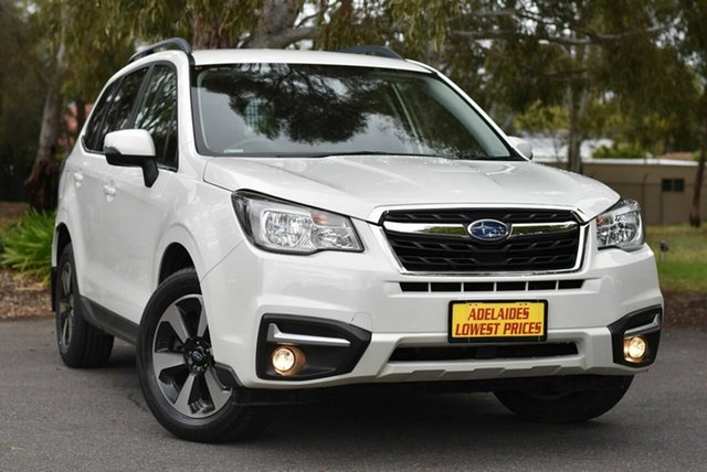 Used Subaru Forester S4 MY18 2.0D-L CVT AWD Melrose Park, 2018 Subaru Forester S4 MY18 2.0D-L CVT AWD White 7 Speed Constant Variable Wagon