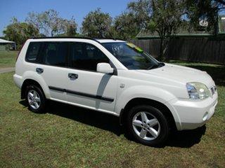 2007 Nissan X-Trail T30 II MY06 ST-S White 5 Speed Manual Wagon.
