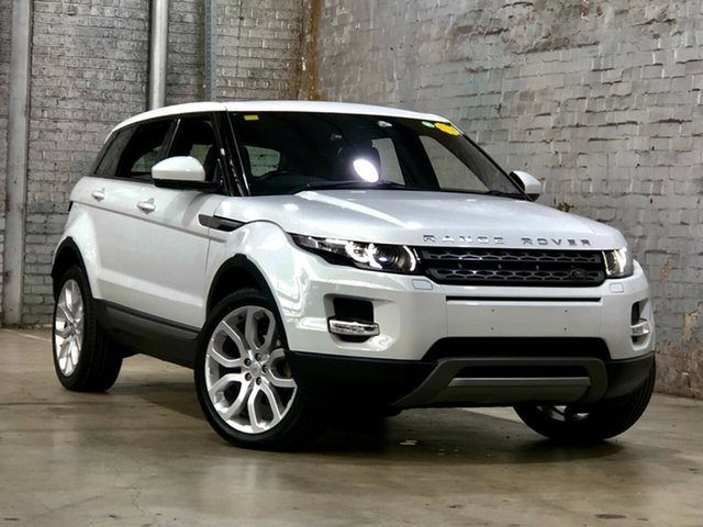 Used Land Rover Range Rover Evoque L538 MY15 Pure Tech Mile End South, 2015 Land Rover Range Rover Evoque L538 MY15 Pure Tech White 9 Speed Sports Automatic Wagon