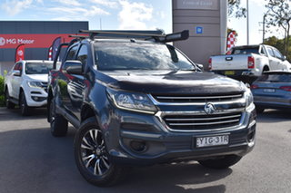 2018 Holden Colorado RG MY18 LS Pickup Crew Cab Grey 6 Speed Sports Automatic Utility.