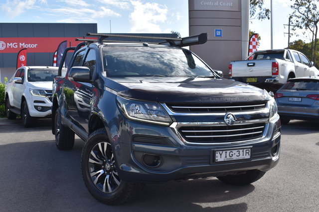 Used Holden Colorado RG MY18 LS Pickup Crew Cab Tuggerah, 2018 Holden Colorado RG MY18 LS Pickup Crew Cab Grey 6 Speed Sports Automatic Utility