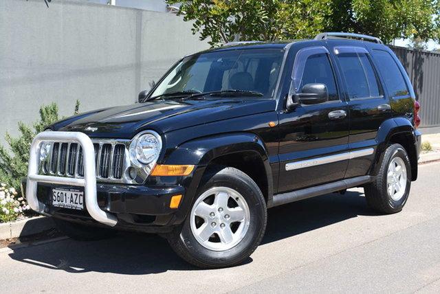 Used Jeep Cherokee KJ MY2006 Limited Brighton, 2006 Jeep Cherokee KJ MY2006 Limited Black 4 Speed Automatic Wagon