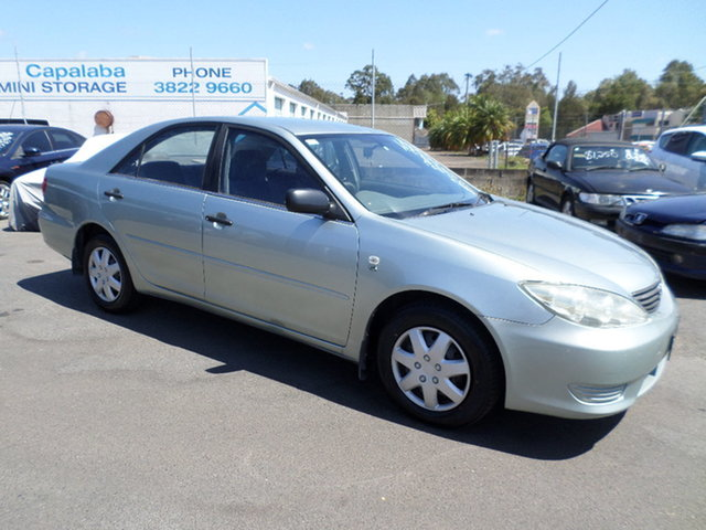 Used Toyota Camry Altise Capalaba, 2002 Toyota Camry Altise Green Automatic Sedan