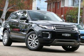 2017 Land Rover Range Rover Evoque LV MY17 TD4 150 SE Black 9 Speed Automatic Wagon.