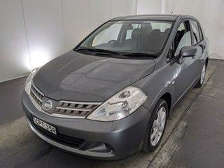 2012 Nissan Tiida C11 S3 ST Grey 4 Speed Automatic Sedan.