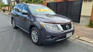 2013 Nissan Pathfinder R52 ST (4x2) Blue Continuous Variable Wagon