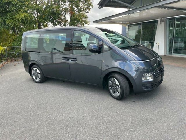 New Hyundai Staria US4.V1 MY22 AWD Springwood, 2021 Hyundai Staria US4.V1 MY22 AWD Graphite Gray 8 Speed Sports Automatic Wagon
