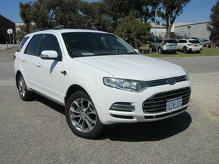 2011 Ford Territory SZ Titanium (RWD) White 6 Speed Automatic Wagon.