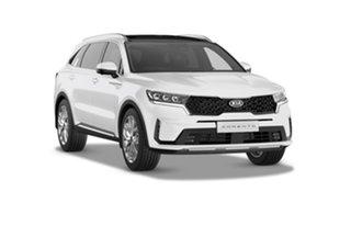 2021 Kia Sorento MQ4 MY22 GT-Line AWD Snow White Pearl 8 Speed Sports Automatic Dual Clutch Wagon