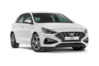 2021 Hyundai i30 PD.V4 i30 Polar White 6 Speed Automatic Hatchback
