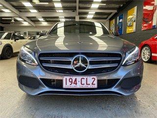 2018 Mercedes-Benz C-Class W205 C350 e Grey Sports Automatic Sedan.