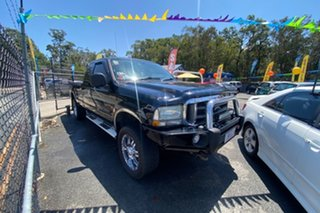 2004 Ford F250 XLT Black 4 Speed Automatic Utility.