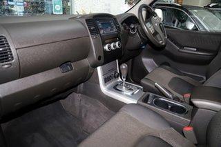 2013 Nissan Navara D40 S6 MY12 ST Silver, Chrome 5 Speed Sports Automatic Utility