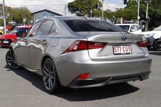 2016 Lexus IS AVE30R IS300h F Sport Grey 1 Speed Constant Variable Sedan Hybrid