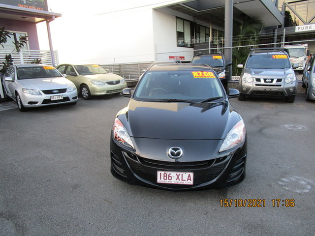 Used Mazda 3 BL 10 Upgrade Maxx Coorparoo, 2011 Mazda 3 BL 10 Upgrade Maxx Black 5 Speed Automatic Sedan