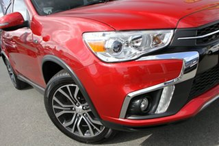 2017 Mitsubishi ASX XC MY17 LS 2WD Red Metallic 6 Speed Constant Variable Wagon.