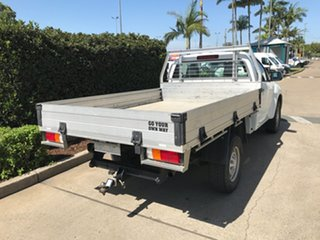 2017 Isuzu D-MAX MY17 SX 4x2 High Ride White 6 speed Automatic Cab Chassis