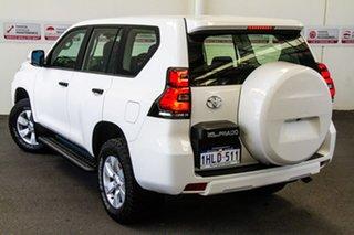 2020 Toyota Landcruiser Prado GDJ150R GX Glacier White 6 Speed Sports Automatic Wagon.