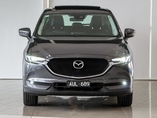 2018 Mazda CX-5 KF4WLA GT SKYACTIV-Drive i-ACTIV AWD Grey 6 Speed Sports Automatic Wagon.
