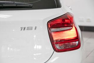 2015 BMW 1 Series F20 MY0714 116i White 6 Speed Manual Hatchback