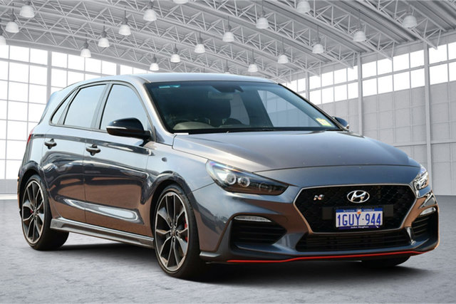 Used Hyundai i30 PDe.3 MY20 N Performance Victoria Park, 2019 Hyundai i30 PDe.3 MY20 N Performance Grey 6 Speed Manual Hatchback