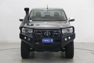 2019 Toyota Hilux GUN126R SR5 Double Cab Gunmetal 6 Speed Sports Automatic Utility.