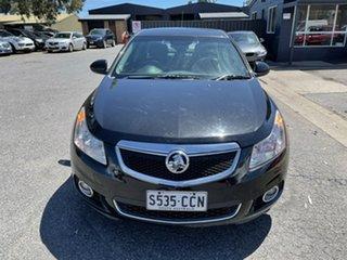2013 Holden Cruze JH Series II MY13 CDX Black 6 Speed Sports Automatic Sedan.