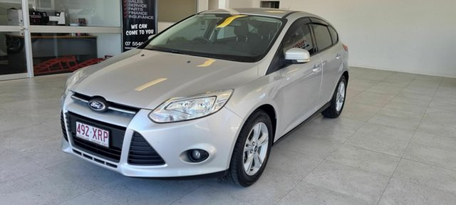 Used Ford Focus Beaudesert, 2013 Ford Focus Silver 6 SP Auto Active Select Hatchback