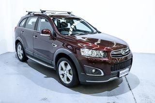 2014 Holden Captiva CG MY14 7 AWD LTZ Maroon 6 Speed Sports Automatic Wagon