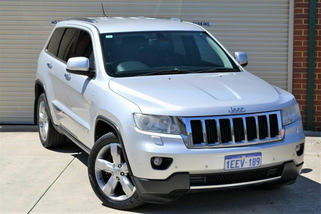 Used Jeep Grand Cherokee WK MY2013 Limited Mount Lawley, 2013 Jeep Grand Cherokee WK MY2013 Limited Silver 5 Speed Sports Automatic Wagon