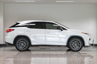 2016 Lexus RX GGL25R RX350 F Sport White 8 Speed Sports Automatic Wagon.
