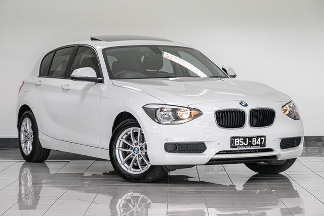 Used BMW 1 Series F20 MY0714 116i , 2015 BMW 1 Series F20 MY0714 116i White 6 Speed Manual Hatchback