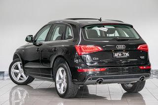 2011 Audi Q5 8R MY11 TFSI S Tronic Quattro Black 7 Speed Sports Automatic Dual Clutch Wagon