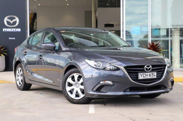 Used Mazda 3 BM5278 Neo SKYACTIV-Drive Kirrawee, 2014 Mazda 3 BM5278 Neo SKYACTIV-Drive Grey 6 Speed Sports Automatic Sedan