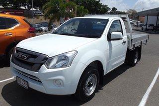 2020 Isuzu D-MAX MY19 SX 4x2 White 6 Speed Manual Cab Chassis.