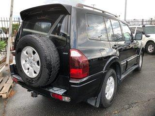 2004 Mitsubishi Pajero NP GLS LWB (4x4) Black 5 Speed Auto Sports Mode Wagon.
