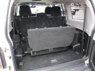 2007 Mitsubishi Pajero NS VR-X LWB White 5 Speed Automatic Wagon