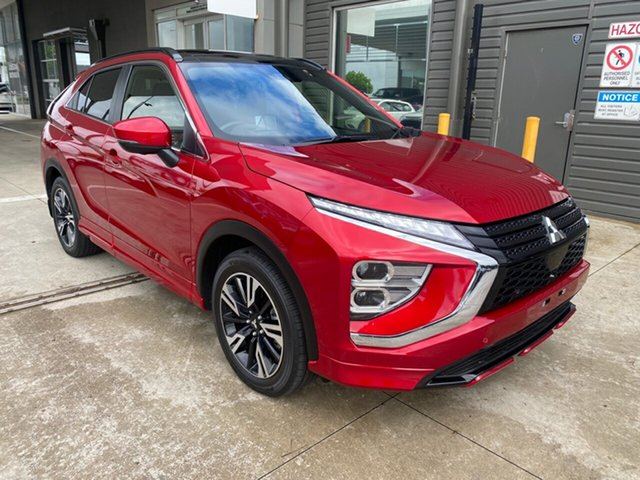 Used Mitsubishi Eclipse Cross YB MY21 Exceed AWD Essendon North, 2020 Mitsubishi Eclipse Cross YB MY21 Exceed AWD Red 8 Speed Constant Variable Wagon