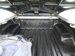 2013 Nissan Navara D40 Silver Automatic Dual Cab