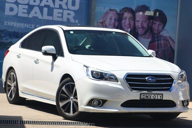 Used Subaru Liberty MY16 3.6R Rosebery, 2017 Subaru Liberty MY16 3.6R Crystal White Automatic Sedan