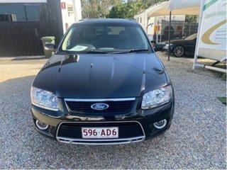 2009 Ford Territory SY MY07 Upgrade Ghia (RWD) Black 4 Speed Auto Seq Sportshift Wagon.